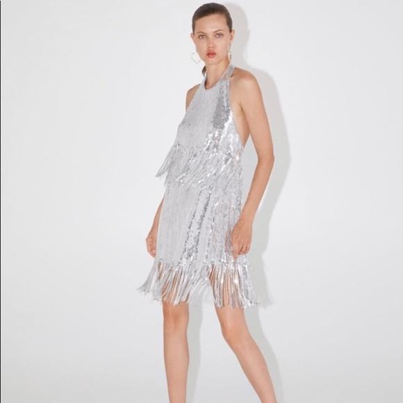 944ecd8c4f NWT Limited Edition Fringed Sequin Dress NWT